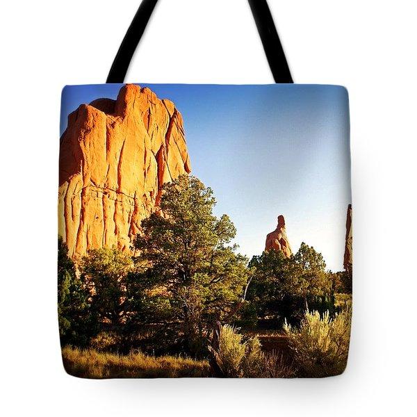 Kodachrome Basin 2 Tote Bag by Marty Koch