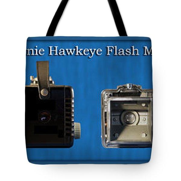 Kodak Brownie Hawkeye Camera Tote Bag by Thomas Woolworth