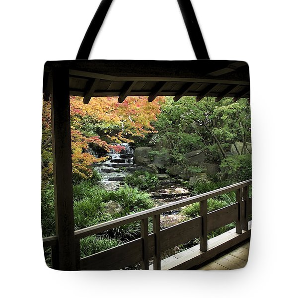 KOKOEN GARDEN - HIMEJI CITY JAPAN Tote Bag by Daniel Hagerman