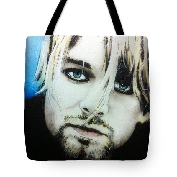 'kurt V' Tote Bag by Christian Chapman Art