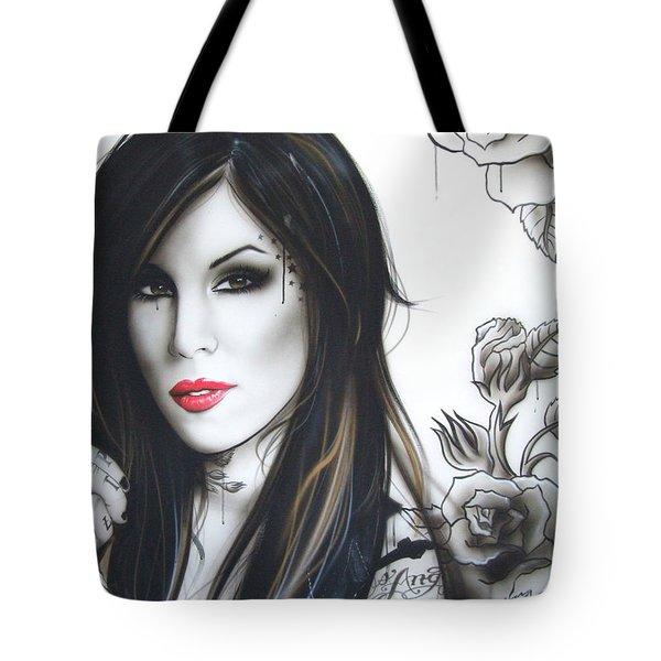 'K.V.D' Tote Bag by Christian Chapman Art
