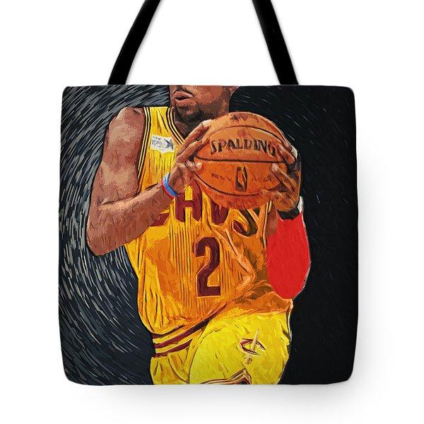 Kyrie Irving Tote Bag by Taylan Apukovska