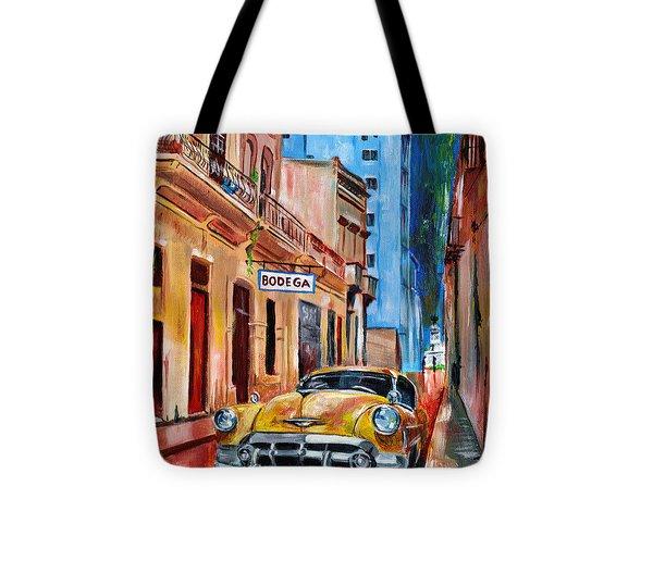 La Bodeguita Tote Bag by Maria Arango