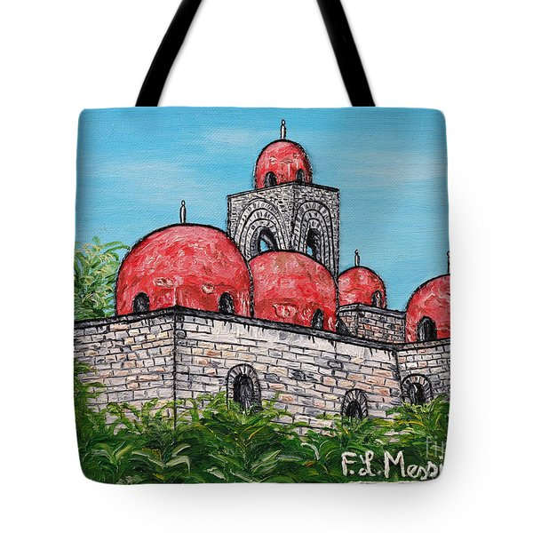 La Chiesa Di San Giovanni Degli Eremiti  Tote Bag by Loredana Messina