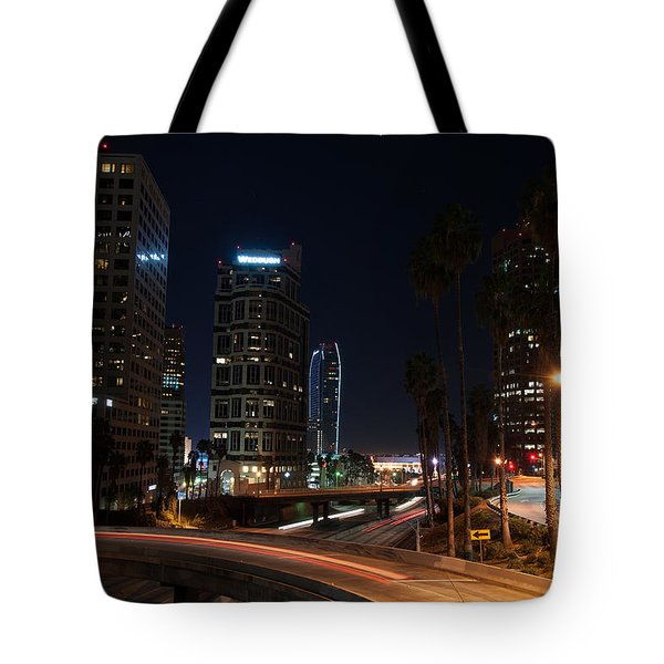 La Down Town 2 Tote Bag by Gandz Photography