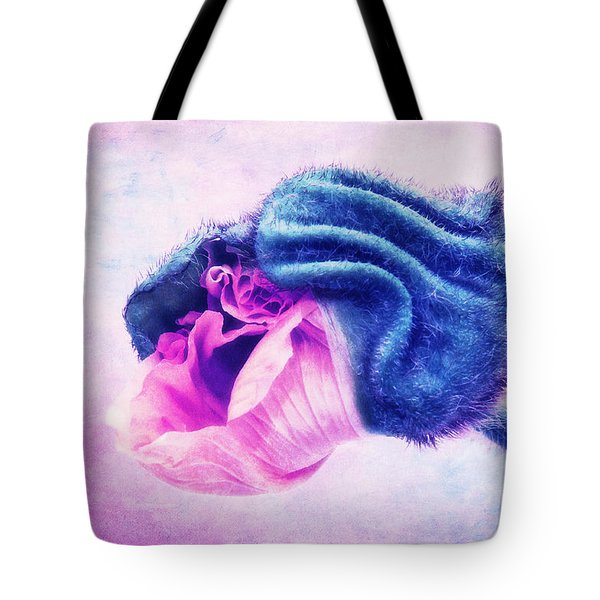 La Fleur II Tote Bag by Angela Doelling AD DESIGN Photo and PhotoArt