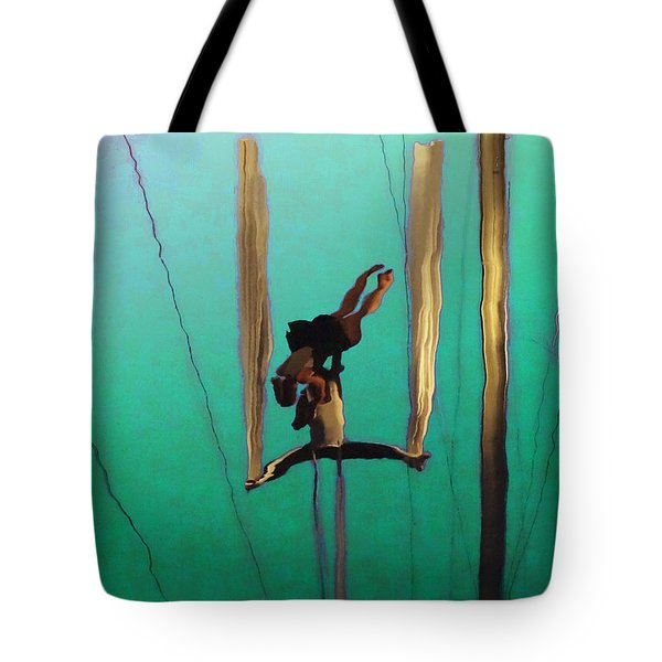 La Loupiote Tote Bag by Anne Mott