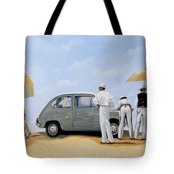 La Seicento Tote Bag by Guido Borelli