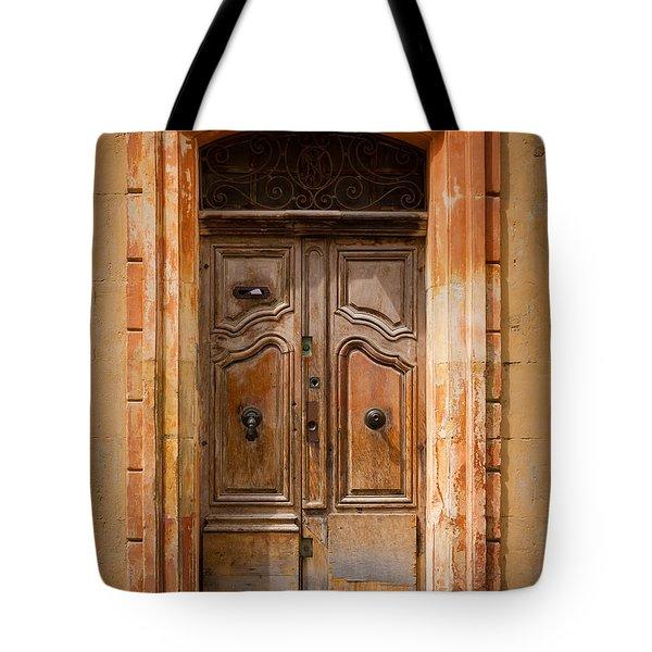 La Vieille Porte Tote Bag by Inge Johnsson