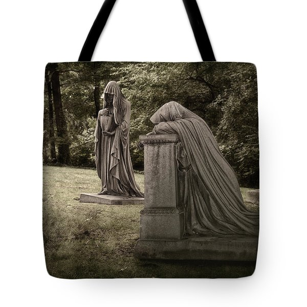 Ladies of Sorrow Tote Bag by Tom Mc Nemar