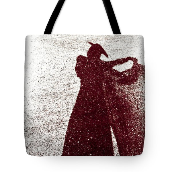 Lady In Red Tote Bag by Caitlyn  Grasso