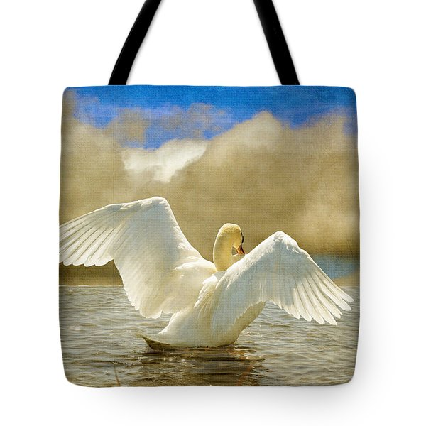 Lady-In-Waiting Tote Bag by Lois Bryan