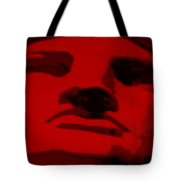 LADY LIBERTY in RED Tote Bag by ROB HANS