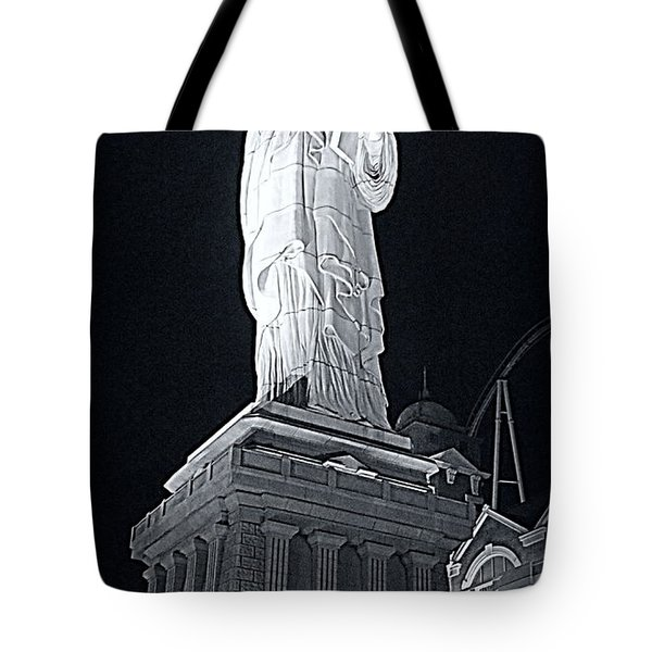 Lady Liberty Tote Bag by Kay Novy