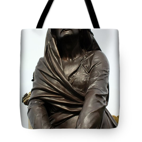 Lady MacBeth in Stratford Out damned spot  Tote Bag by Terri  Waters