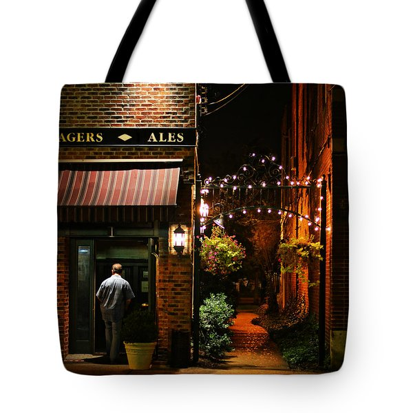 Lagers And Ales Tote Bag by Laura Fasulo