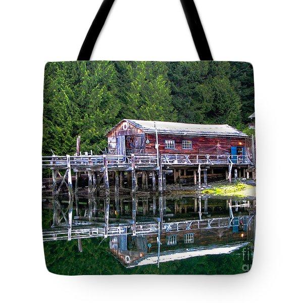 Lagoon Cove Tote Bag by Robert Bales