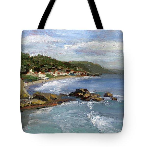 Laguna Beach Tote Bag by Alice Leggett