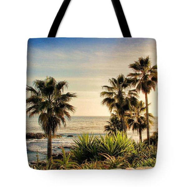 Laguna Beach Tote Bag by Mariola Bitner