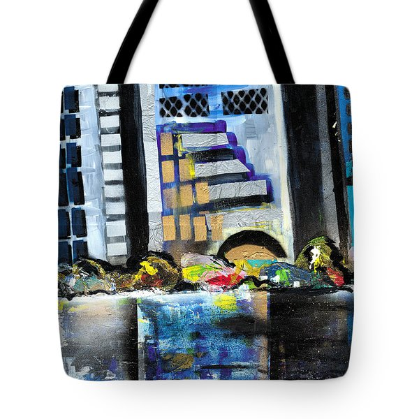 Lake Eola - Part 1 Of 3 Tote Bag by Everett Spruill