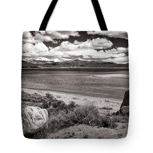 Lake Granby Tote Bag by Joan Carroll