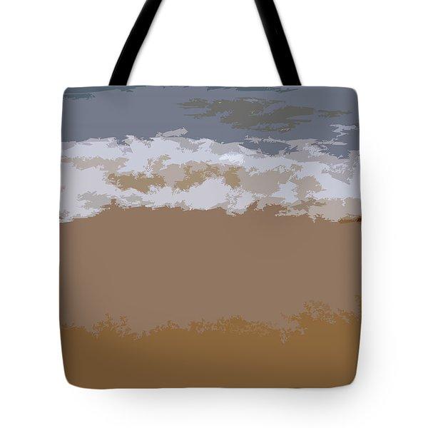 Lake Michigan Shoreline Tote Bag by Michelle Calkins