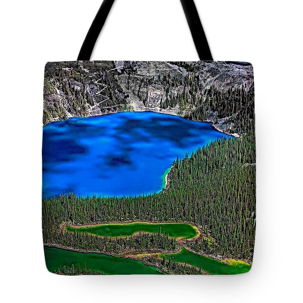 Lake O'hara Tote Bag by Steve Harrington