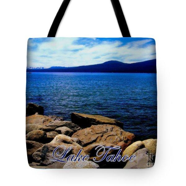 Lake Tahoe Magic Tote Bag by Bobbee Rickard