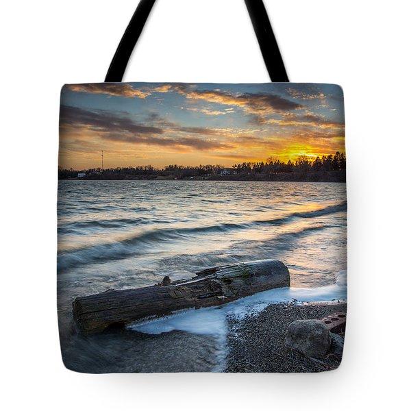 Lake Yankton Minnesota Tote Bag by Aaron J Groen