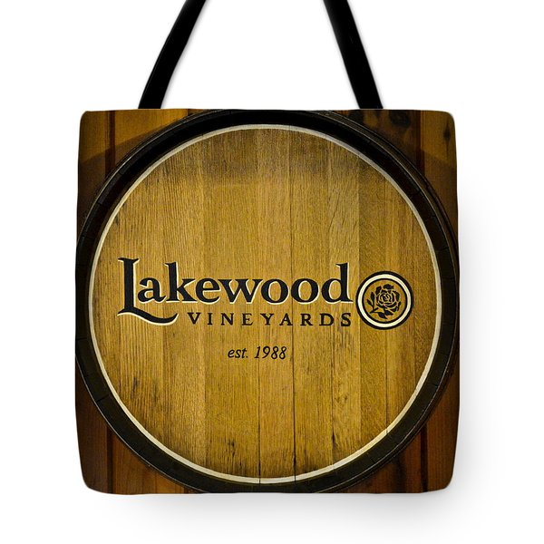 Lakewood Vineyards Tote Bag by Frozen in Time Fine Art Photography