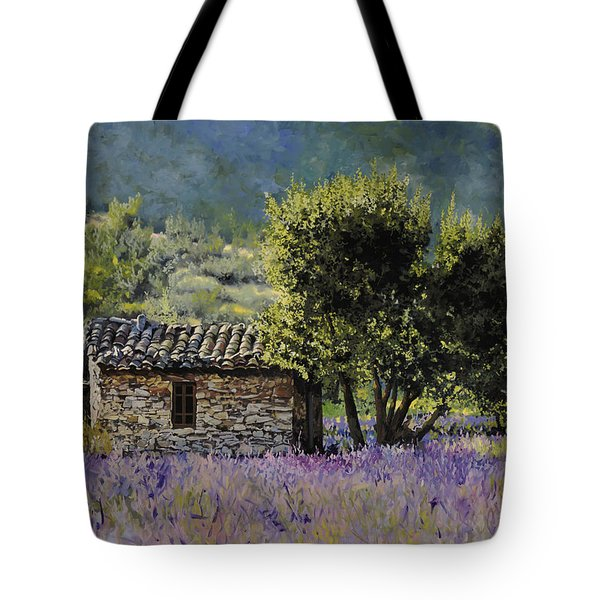 lala vanda Tote Bag by Guido Borelli