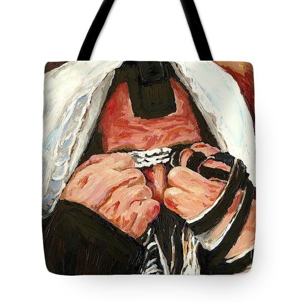 Lamentations Tote Bag by Carole Spandau