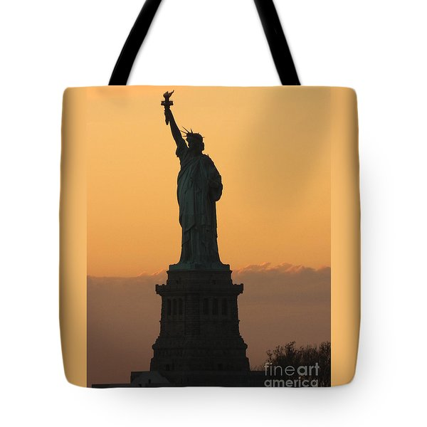 Land Of The Free And The Brave Tote Bag by Emmy Marie Vickers