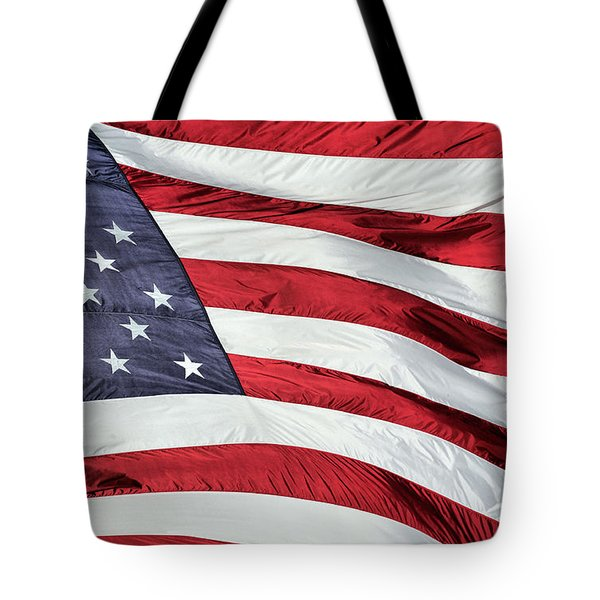 Land of the Free Tote Bag by JC Findley
