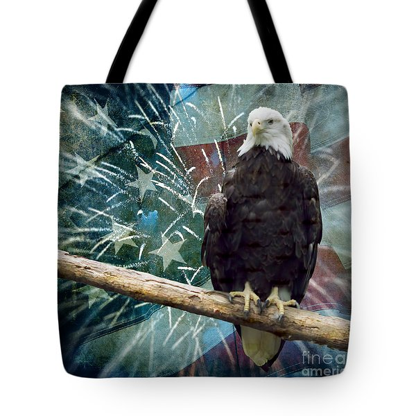 Land Of The Free Tote Bag by Terry Weaver