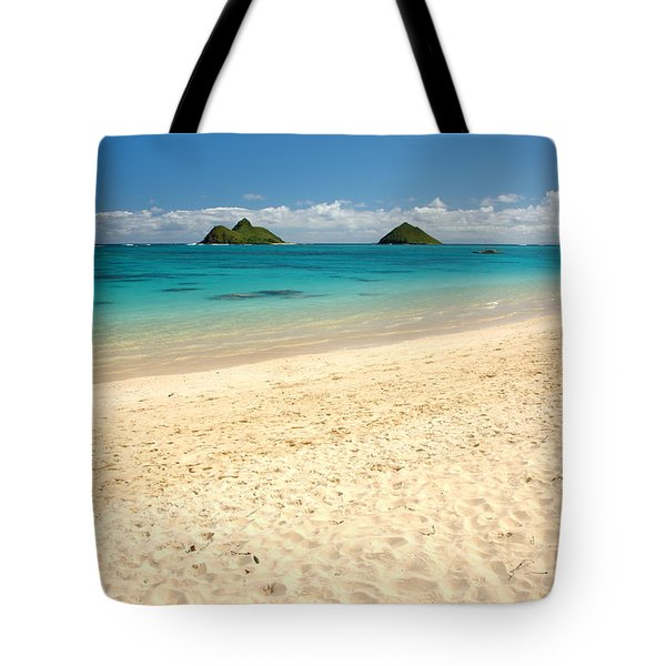 Lanikai Beach 2 - Oahu Hawaii Tote Bag by Brian Harig