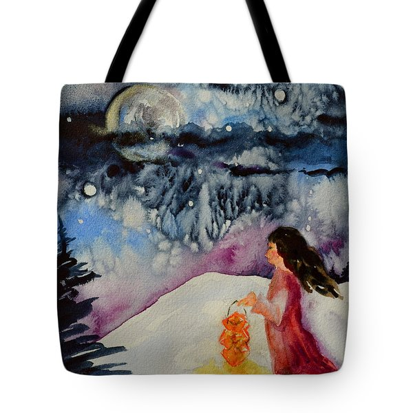 Lantern Festival Tote Bag by Beverley Harper Tinsley