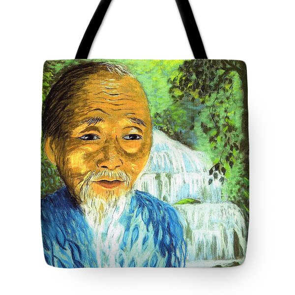 Lao Tzu Tote Bag by Jane Small