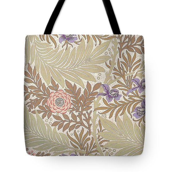 Larkspur Design Tote Bag by William Morris