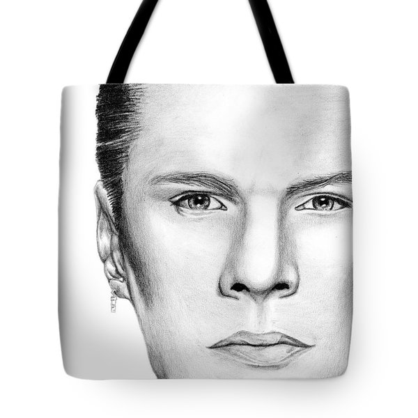 Larry Mullen Jr. Tote Bag by Kayleigh Semeniuk