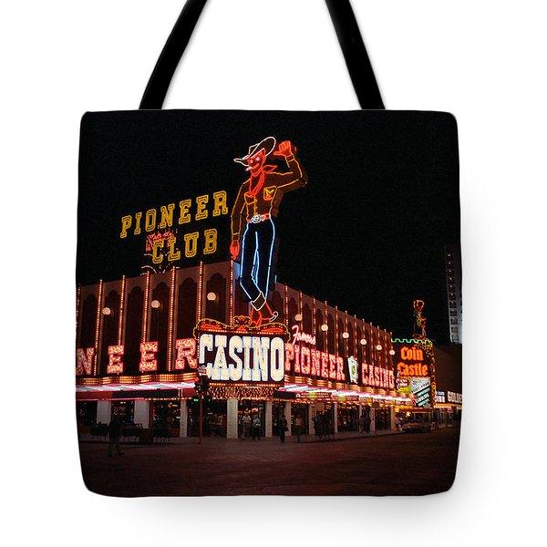 Las Vegas 1983 Tote Bag by Frank Romeo