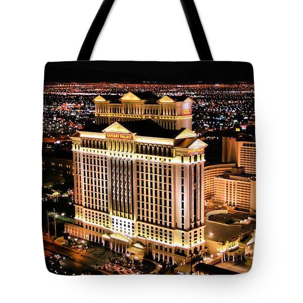 Las Vegas Tote Bag by Kristin Elmquist