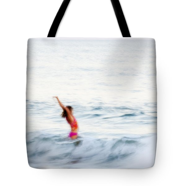 Last Days Of Summer Tote Bag by Carol Leigh