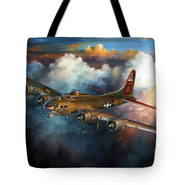 Last Flight For Nine-o-nine Tote Bag by Randy Green