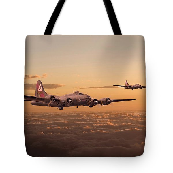 Last Home Tote Bag by Pat Speirs
