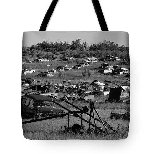 Last Ride Tote Bag by David Lee Thompson