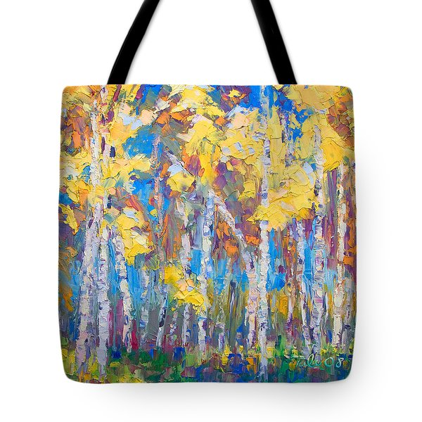 Last Stand Tote Bag by Talya Johnson