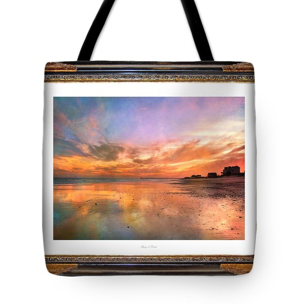 Lasting Moments Tote Bag by Betsy A  Cutler