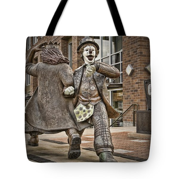 Late For Interurban  Tote Bag by Joanna Madloch