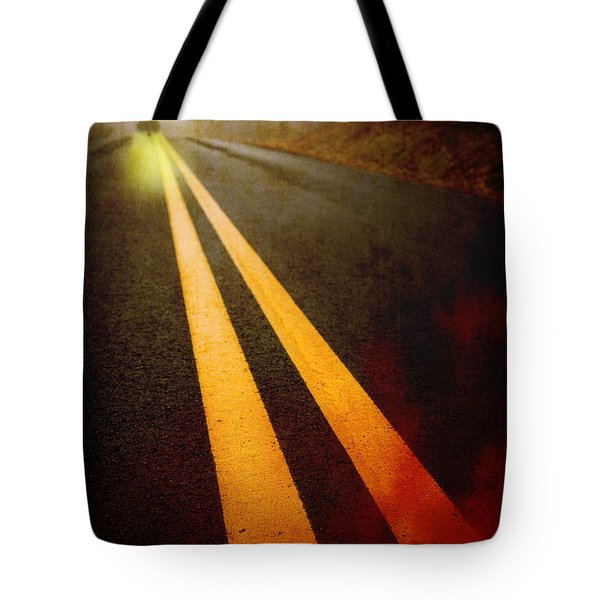Late Night Encounter Tote Bag by Edward Fielding
